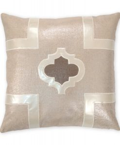 Griffin Metallic Linen Pillow