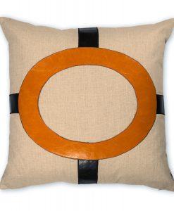 Cameron Espresso Linen Pillow