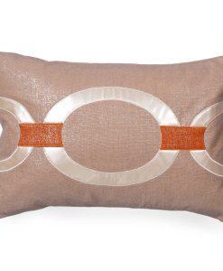 Hunter of the Lava Linen Pillow