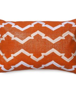 Finley of the Lava Collection Metallic Linen Pillow