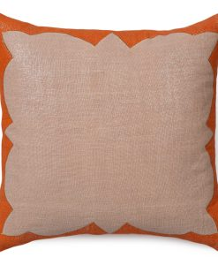 Tracy of the Sunset Linen Pillow