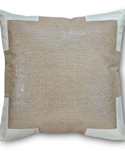 Tracy Linen Pillow in Pacific Blue