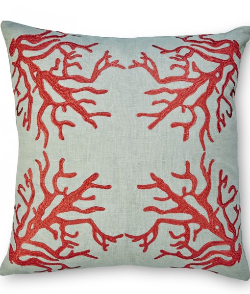 Suzanne Linen Pillow of the Hampton Collection