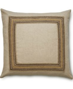 Bohemia Linen Pillow from the Espresso Collection
