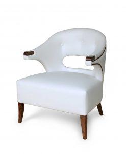 Nanook Luxurious Armchair in White