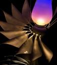 Tesseract Chandelier