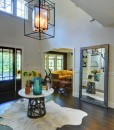 Dos Cubos Chandelier courtesy Karen Bowen Interiors