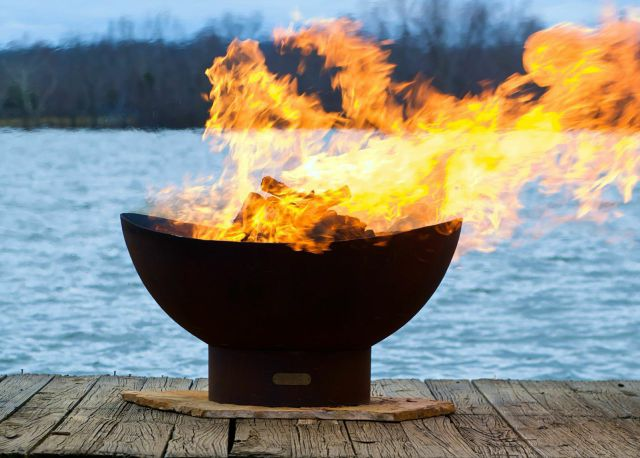 The Scallop Fire Pit