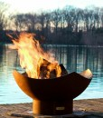 Manta Ray Fire Pit