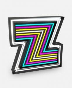 Z Neon Floor Lamp