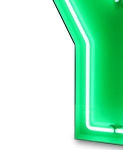 Y Neon Letter Lighting