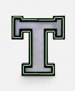 T Neon Floor Lamp
