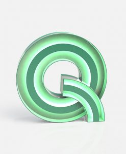 Q Neon Floor Light