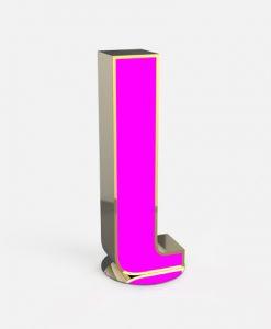 L LED Art Alphabet Light