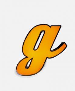 G Letter LED Light
