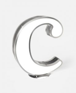 "Letter ""C"" Graphic Lighting"