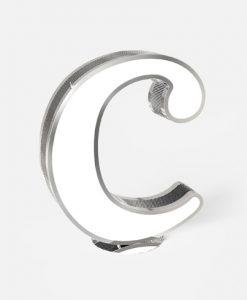 "Letter ""C"" Graphic Lighting"