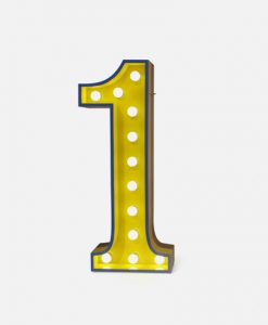 Number One Graphic Light