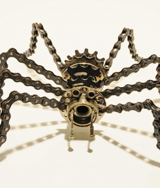 Gearantula Spider Desk Sculpture