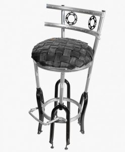 Up-Cycled Bar Stool