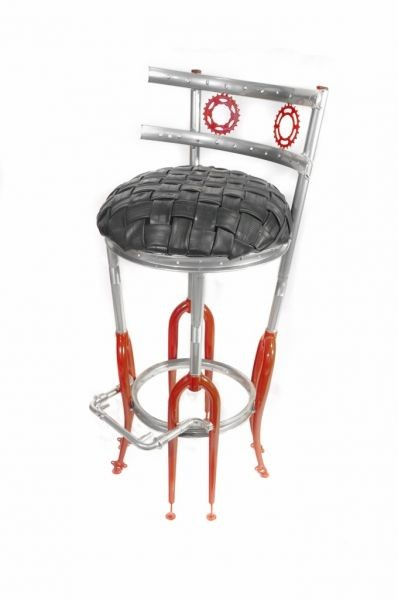 Up-Cycled Bar Stool