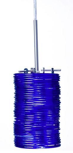 Azure Glass Pendants
