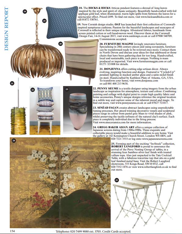 World of Interiors Design Report Sept 2015