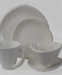 Casa Mia White 5PC Place Setting