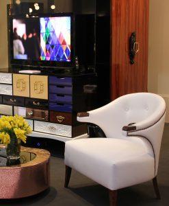 Nanook White Armchair