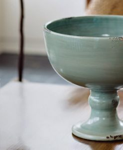 Arno River Footed Fruit Bowl