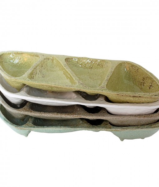 Casa Mia 4 Section Appetizer and Condiment Tray