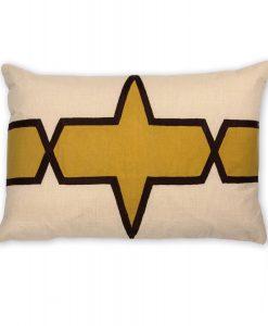 Jill Linen Pillow of the Espresso Collection
