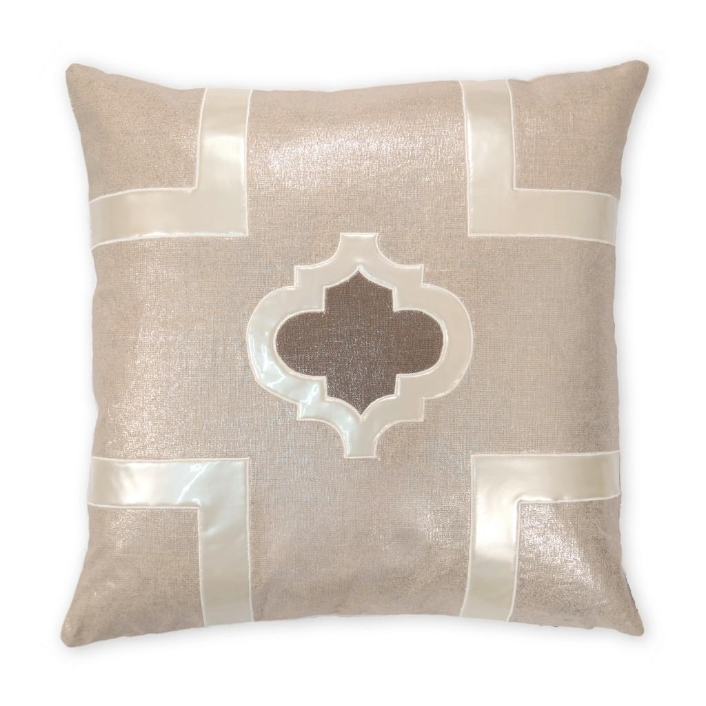 Griffin Metallic Linen Pillow