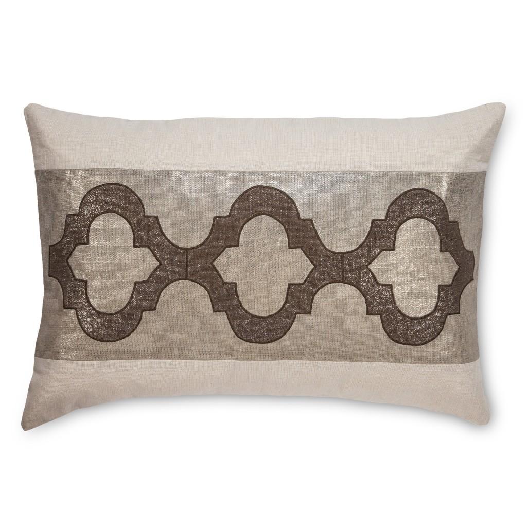 Dunes Brown Cee Cee Linen Pillow