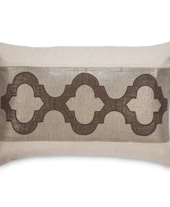 Dunes Brown Cee Cee Linen Pillow