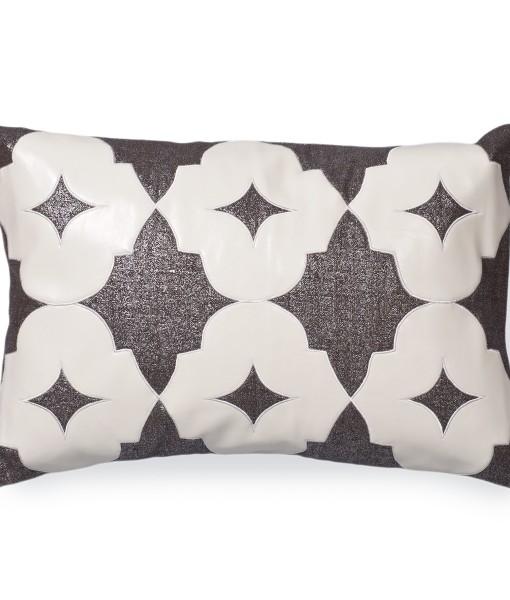 Wynn Metallic Linen Pillow