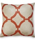 Reynolds Metallic Linen Embroidered Pillow