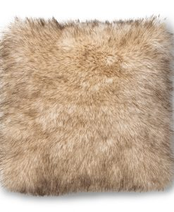 Teddy Faux Fur Pillow from the Boulder Collection