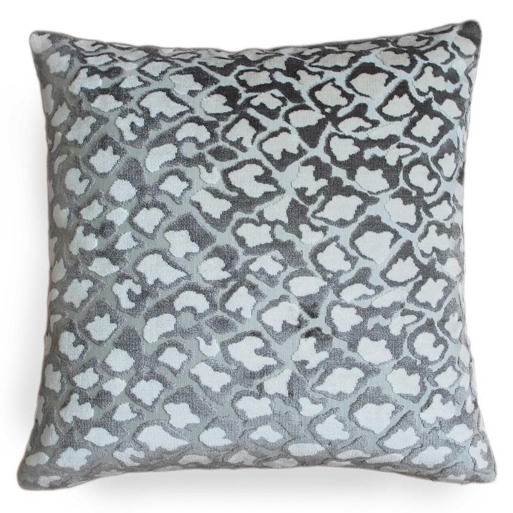Kendrick Pacific Blue Linen Pillow