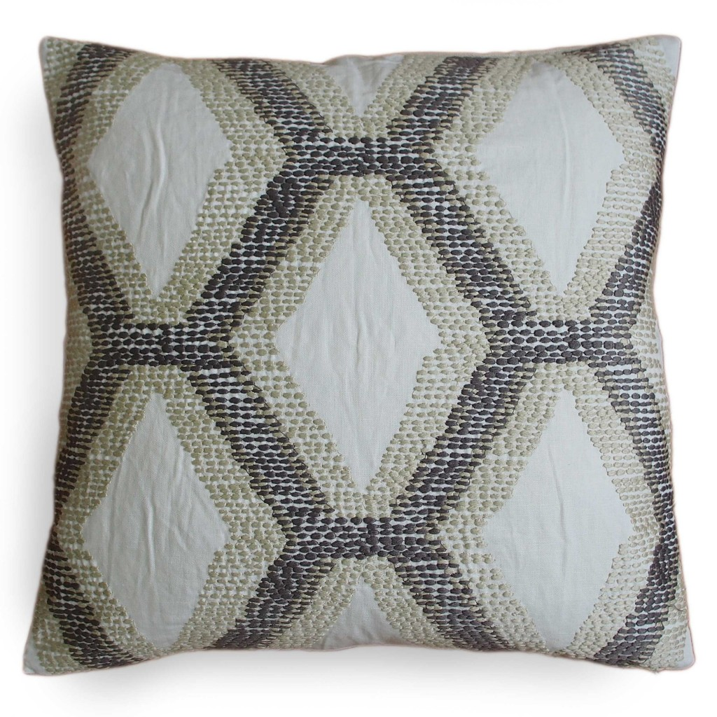 Pacific Blue Kandice Linen Pillow