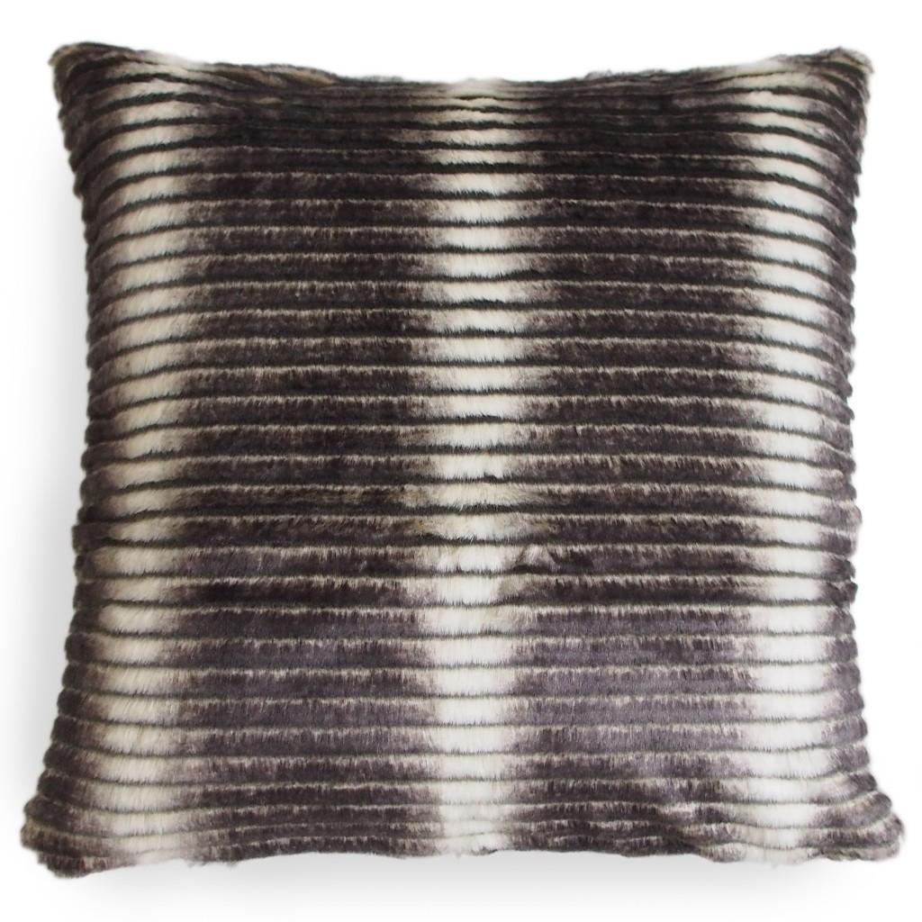 Smokey Faux Fur Pillow