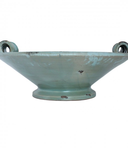 Arno River Platter with Twisted Handles