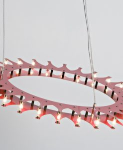 Schproket Pendant Light in Red
