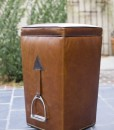 Longchampe Leather Stool