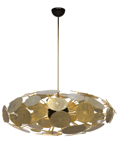 Newton Elliptic Chandelier