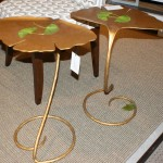 Ginkgo Martini Side Table