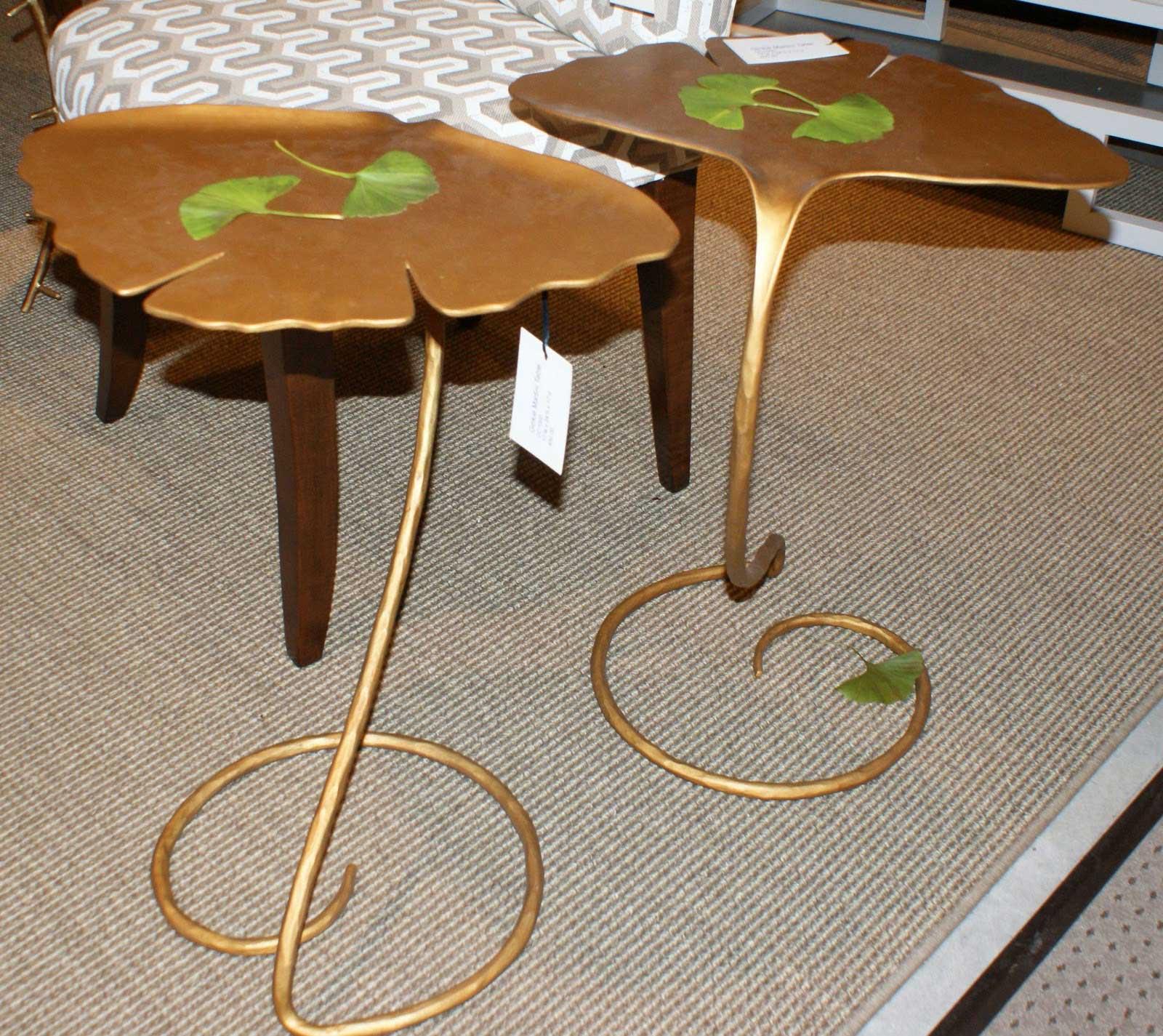 Martini Table: Ginkgo Martini Side Table
