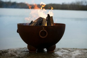 The Nepal Fire Pit for outdoor entertaining