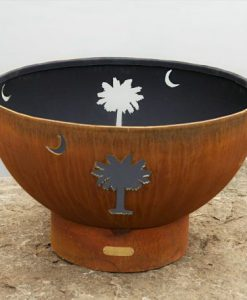Tropical Moon Fire Pit