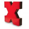 X Neon Floor Lamp